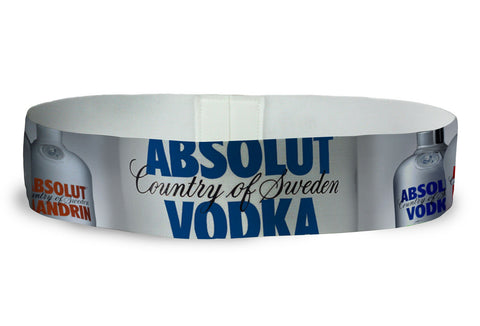 Absolut Vodka Custom Loopty Loop bands
