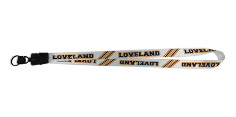 Loveland Stripes Custom Lanyards