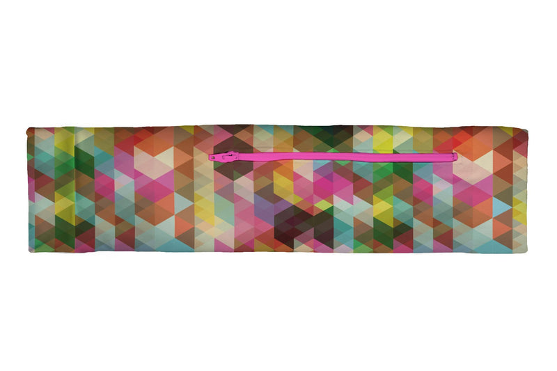 Venture Slim Belt Geometric Rainbow (SKU 1101 VSB)