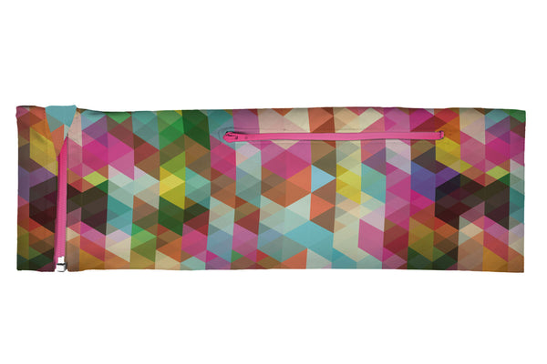 ZIPIT Belt Geometric Rainbow (SKU 1101 ZB)