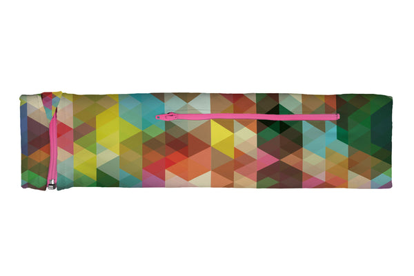 ZIPIT Slim Belt Geometric Rainbow (SKU 1101 SZB)