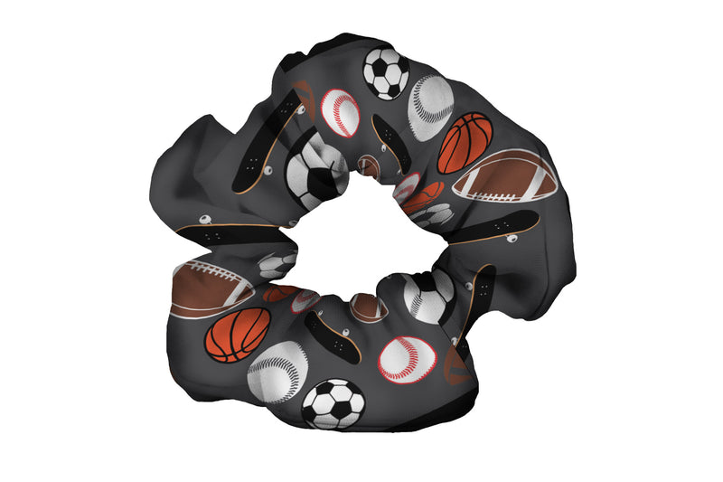 All Sports Charcoal Scrunchy (SKU 1212 SCR)