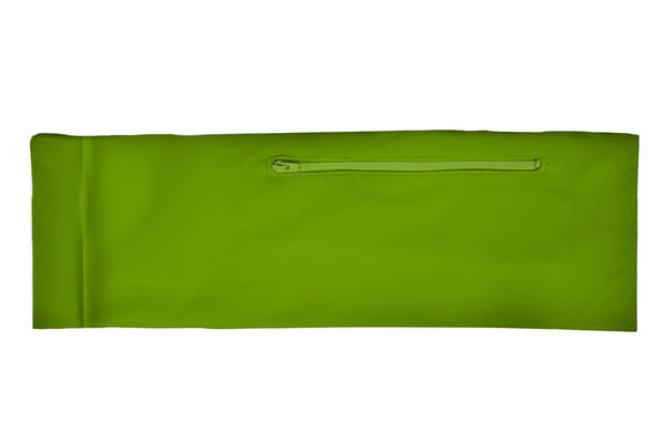 Venture Belt Solid Lime (SKU 1218 VB)