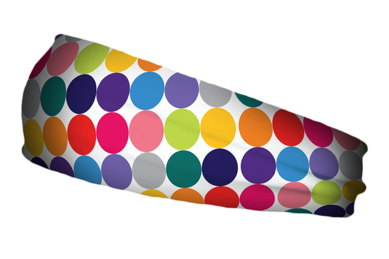 Loudmouth® Disco Balls White Stretch Band (SKU 12503 SB)