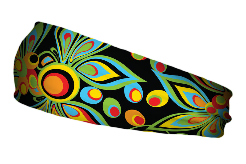Loudmouth® Shagadelic Black Stretch Band (SKU 12513 SB)