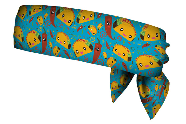 REVERSIBLE Taco Party/Chili Pepper Craze Head Tie (SKU 1362 HTB)