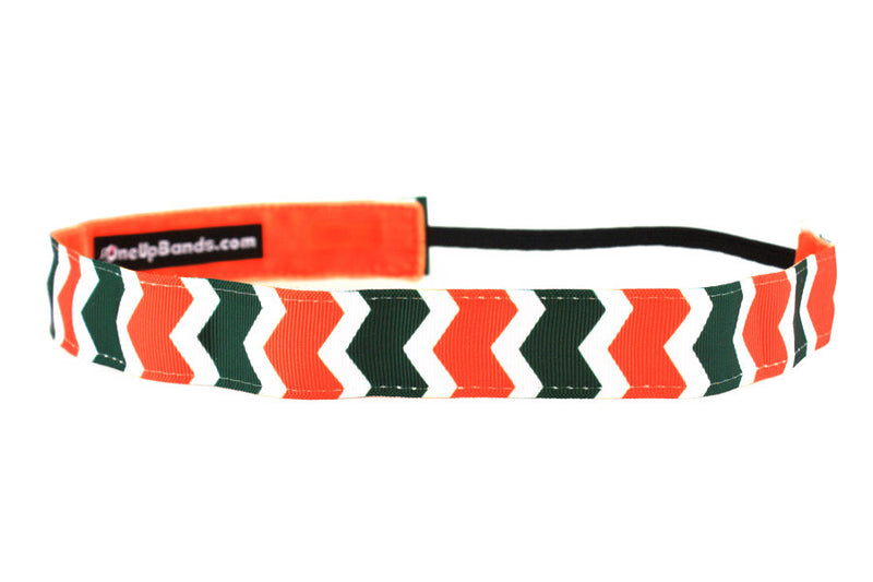 NCAA University of Miami Chevron (SKU 1368)