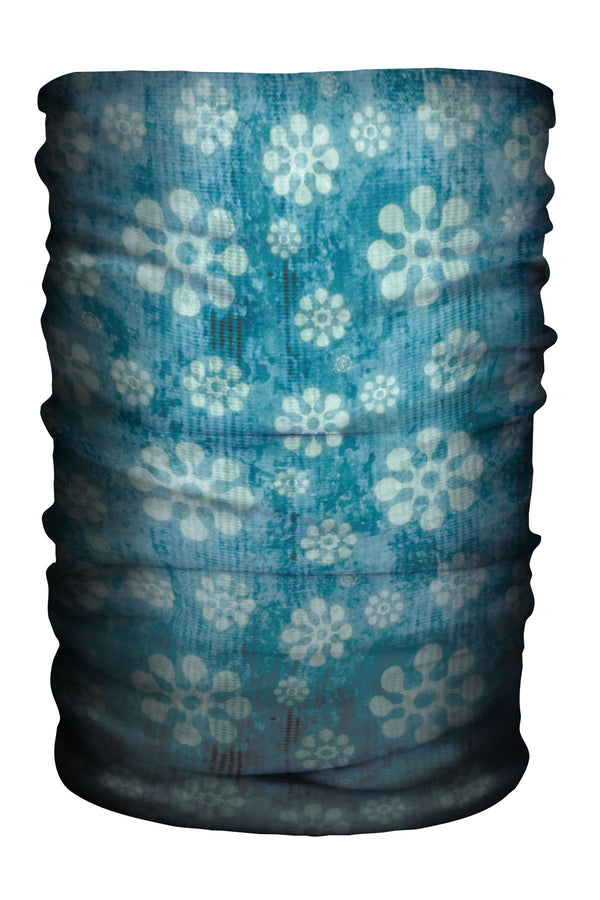 Multi-Gaiter Modern Flower Blue (SKU 1396 MG)