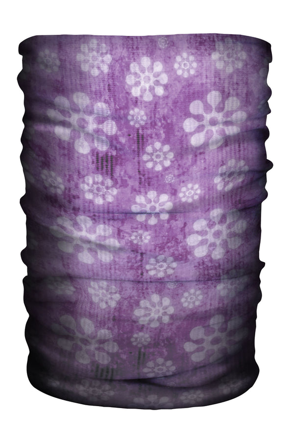 Multi-Gaiter Modern Flower Purple (SKU 1397 MG)