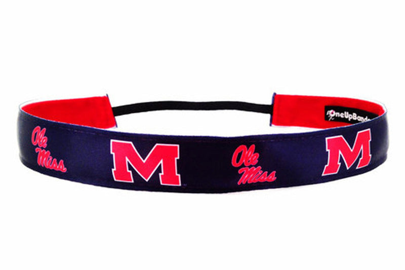 NCAA University of Mississippi Team Colors (SKU 1448 Solid)
