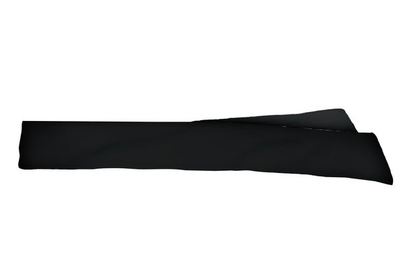 Solid Black Head Tie (SKU 1524 HTB)