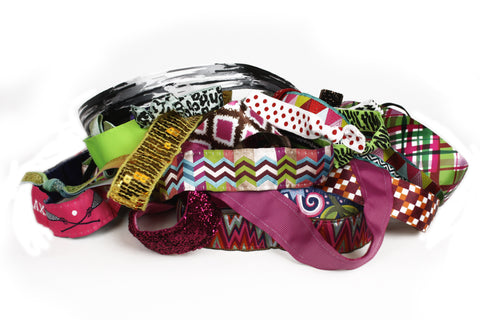 Grab Bag: 10 Headbands + 15 Hair Ties (SKU 1563)