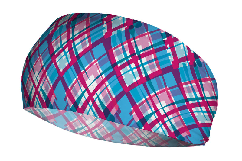 Wacky Plaid Blue Pink (SKU 1637 SB)