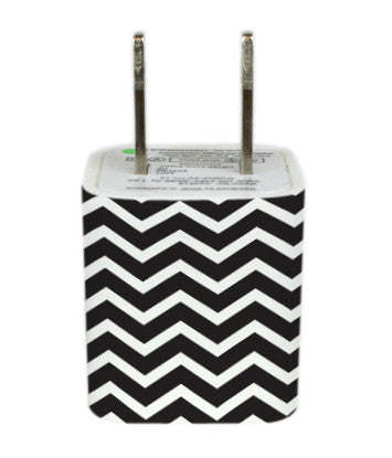 Wall Adapter Chevron Black