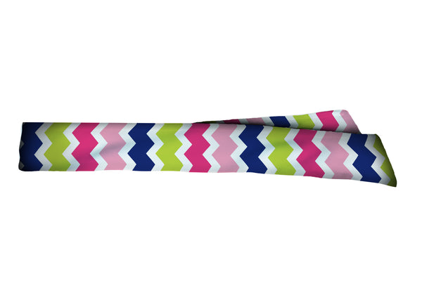 Chevron Vertical Multi Head Tie (SKU 1735 HTB)