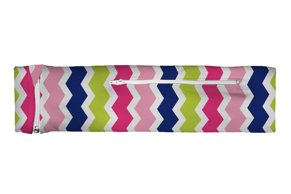 ZIPIT Slim Belt Chevron Vertical Multi (SKU 1735 SZB)