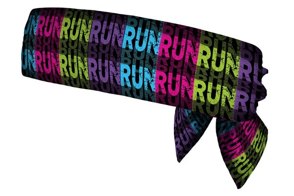 Run Run Run Head Tie (SKU 1764 HTB)