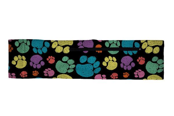 Venture Slim Belt Sketchy Paws Multi (SKU 1838 VSB)