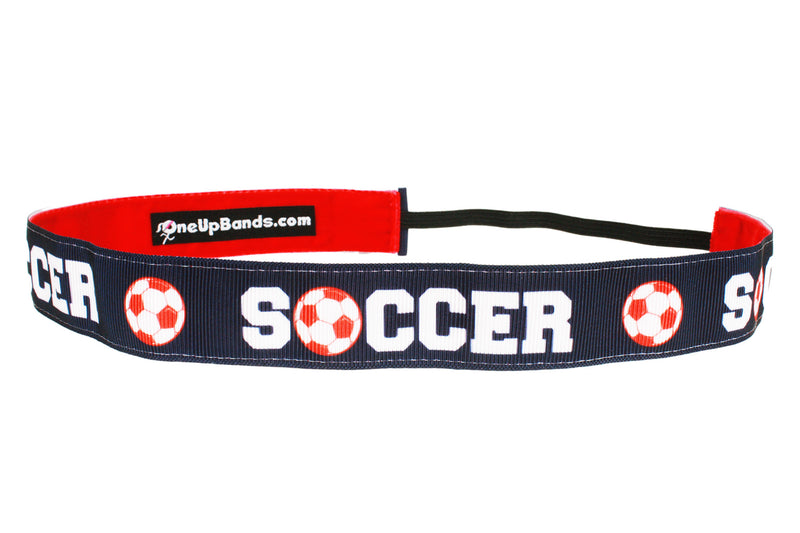 Soccer Ball Navy Red (SKU 1849)