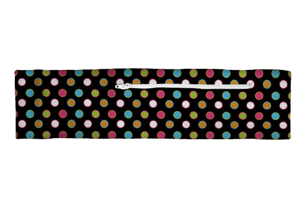 Venture Slim Belt Polka Dots Multi (SKU 1865 VSB)
