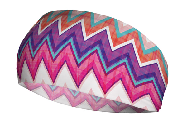 Chevron Purple Pink Plaid (SKU 1931 SB)