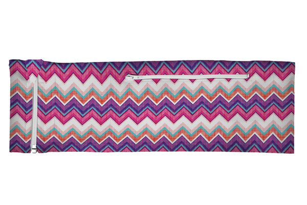 ZIPIT Belt Purple Pink Plaid Chevron (SKU 1931 ZB)