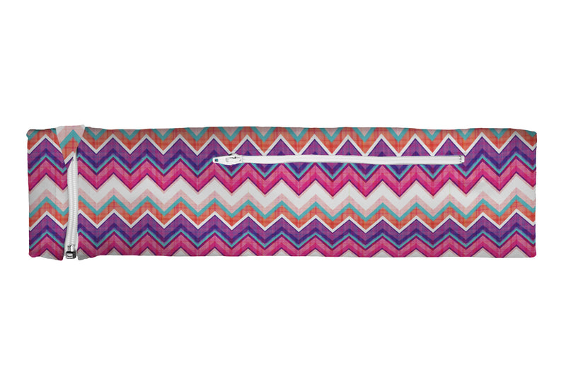 ZIPIT Slim Belt Chevron Purple Pink Plaid (SKU 1931 SZB)