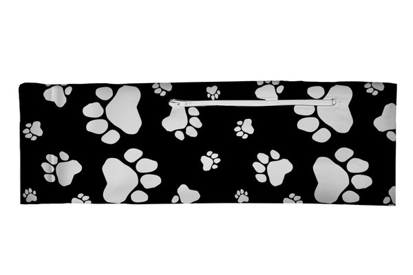 Venture Belt Paw Prints Black/White (SKU 1968 VB)