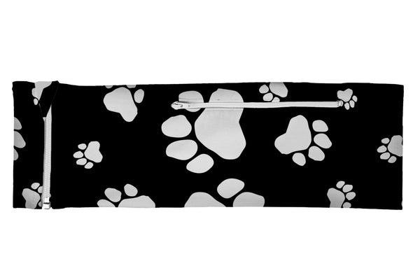 ZIPIT Belt Paw Prints Black/White (SKU 1968 ZB)