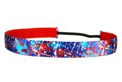 Paint Splatter Patriotic (SKU 2026)
