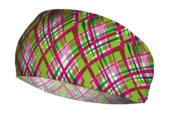 Wacky Plaid Green Pink (SKU 2068 SB)