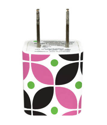 Wall Adapter Cirque Pink Black