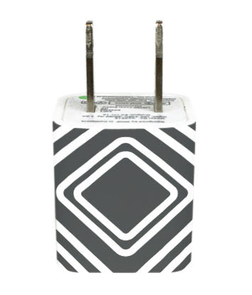 Wall Adapter Diamonds Grey