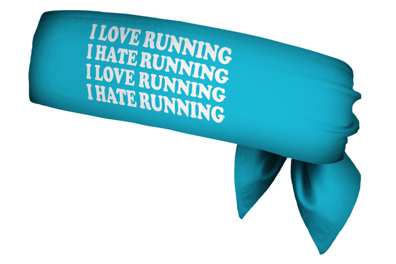 REVERSIBLE iRun/Love Hate Running Head Tie (SKU 2108 HTB)