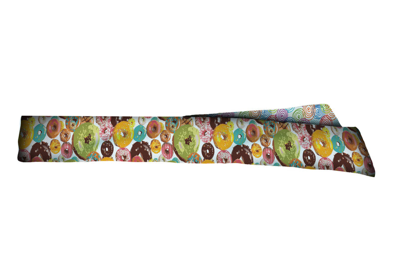 REVERSIBLE Curly Q/Donuts Galore Head Tie (SKU 3035 HTB)
