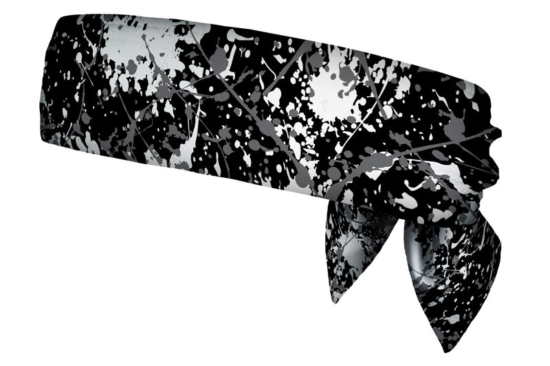 REVERSIBLE Paint Splatter/Grey Head Tie (SKU 3080 HTB)