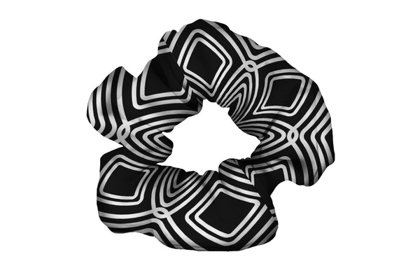 Diamonds Black Scrunchy (SKU 3091 SCR)
