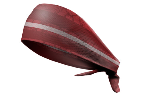 Tie Back Crimson Stripes (SKU 3093)