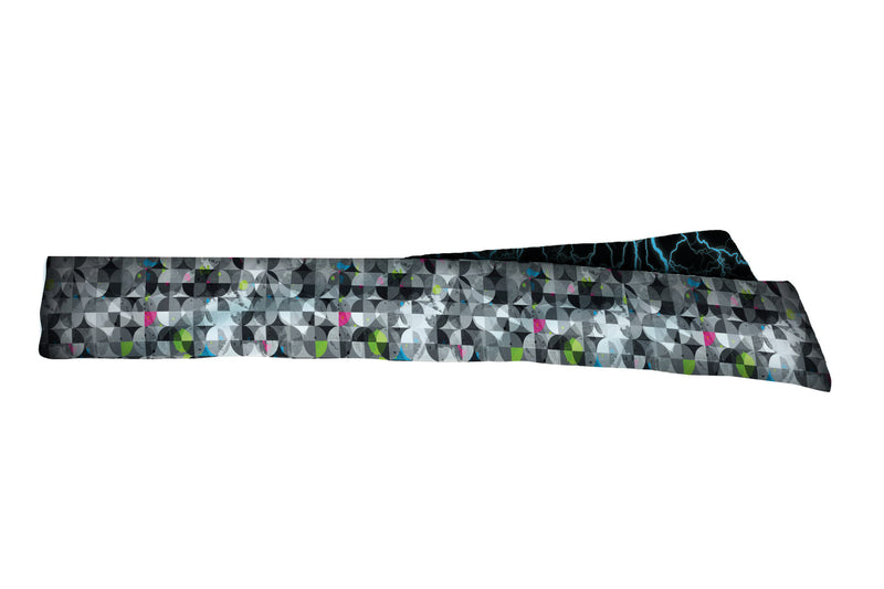 REVERSIBLE Ride The Lightning/Retro Paintballs Head Tie (SKU 3159 HTB)