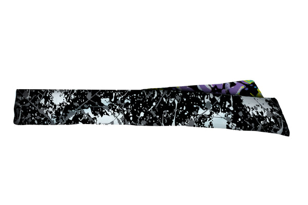 REVERSIBLE Paint Splatter/Modern Art Mash Up Head Tie (SKU 3209 HTB)