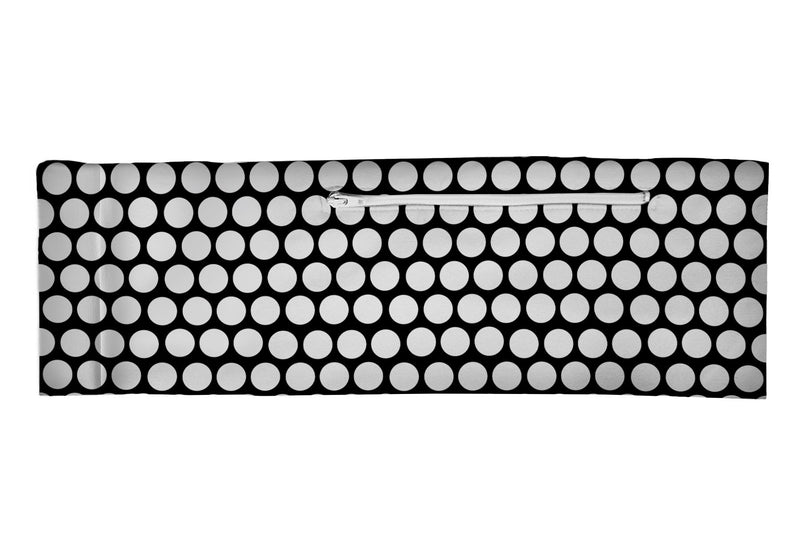 Venture Belt Classic Black & White Polka Dots (SKU 3217 VB)