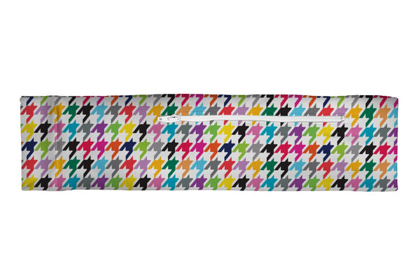 Venture Slim Belt Houndstooth Multi (SKU 3218 VSB)