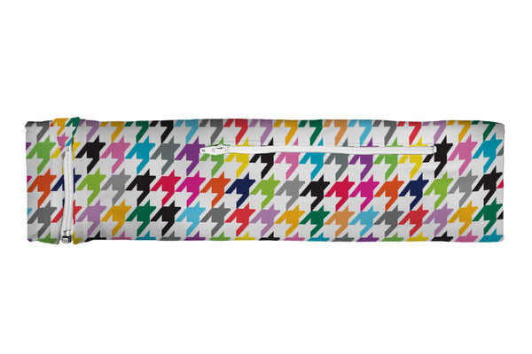 ZIPIT Slim Belt Houndstooth Multi (SKU 3218 SZB)