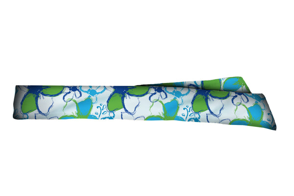 Tropical Ocean Blitz Head Tie (SKU 3219 HTB)