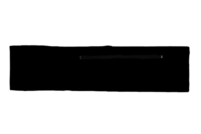 Venture Slim Belt Solid Black (SKU 5001 VSB)
