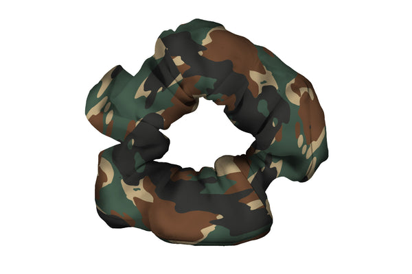 Jungle Camo Scrunchy (SKU 5002 SCR)