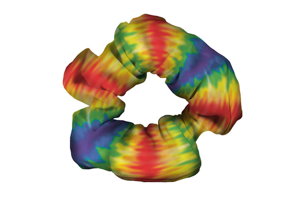 Rainbow Wave Scrunchy (SKU 5004 SCR)