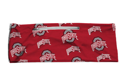 Ohio State University Buckeyes Team Colors Licensed Fan Wrap