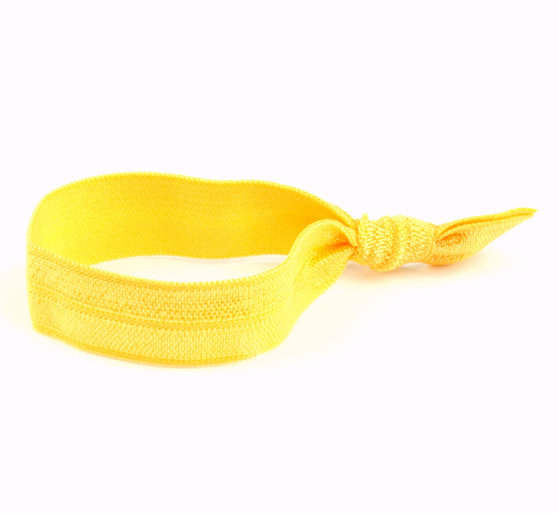 Solid Yellow Hair Tie (SKU 6091)