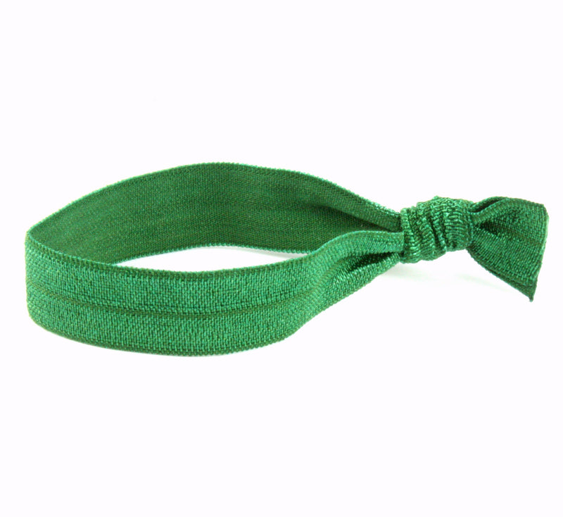 Solid Emerald Hair Tie (SKU 6089)